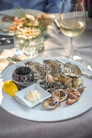 fresh seafood cabourg normandy france
