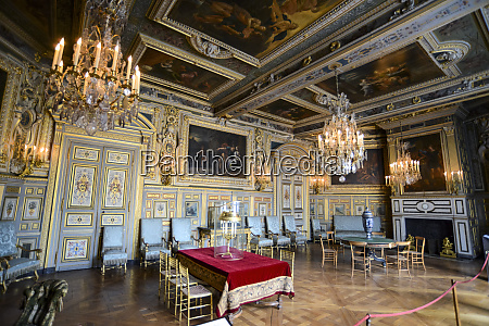 louis xiii salon chateau de fontainebleau