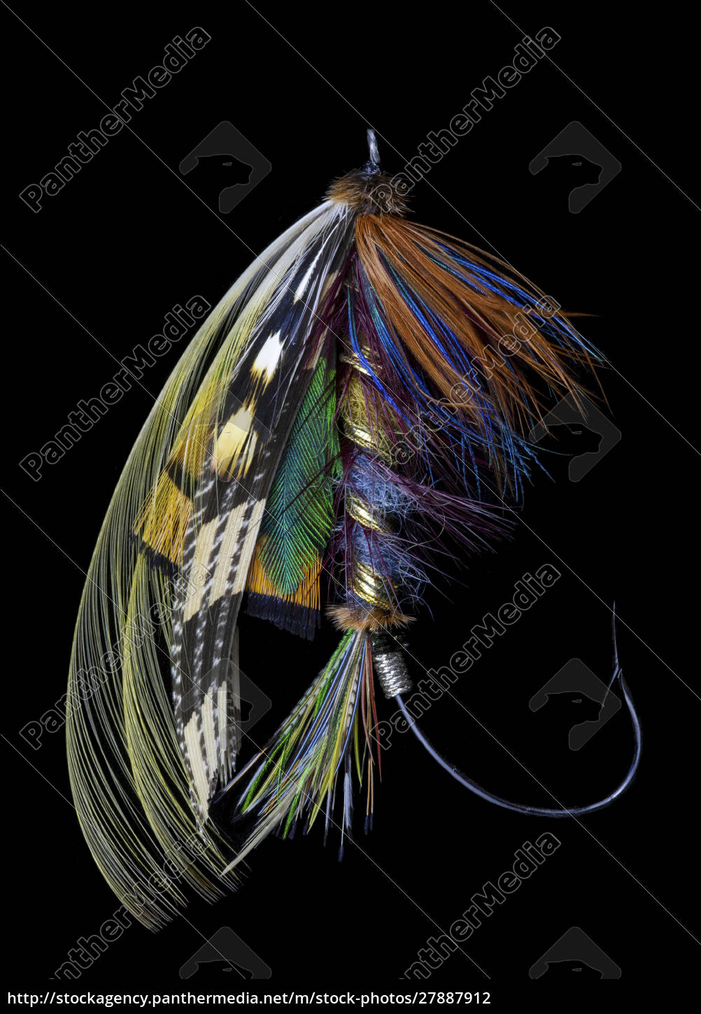 atlantic, salmon, fly, designs, 'blacker, ghost' - 27887912