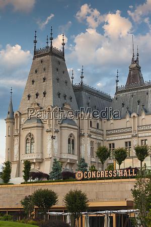 romania moldavia iasi palace of culture