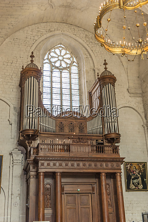 organ cathedral of st vincent viviers