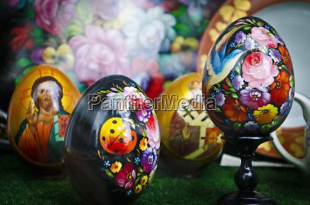 painted eggs paris france