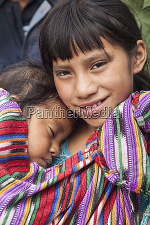 central america guatemala chichicastenango an older