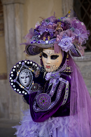 venice italy mask and costumes at
