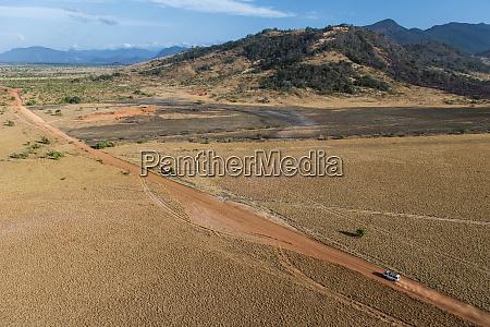 dirt road savanna rupununi guyana
