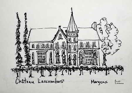 chateau lascombes in the margeaux region