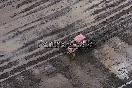 tractor rice production coastal area guyana