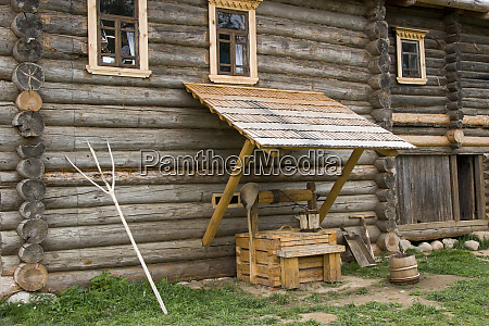 rural homestead mandrogi village russia
