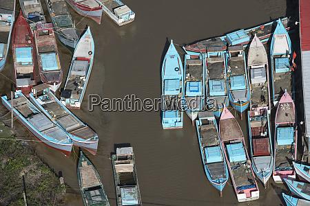 fishing boats east guyana