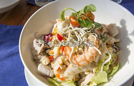 barcelona spain food plate of shrimp