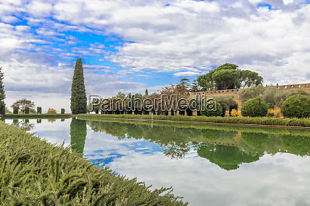 central italy lazio tivoli hadrians villa