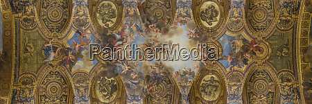 panorama ceiling painting versailles france