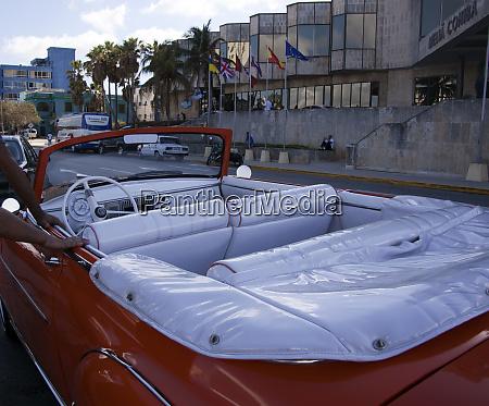 havana cuba classic convertible automobile