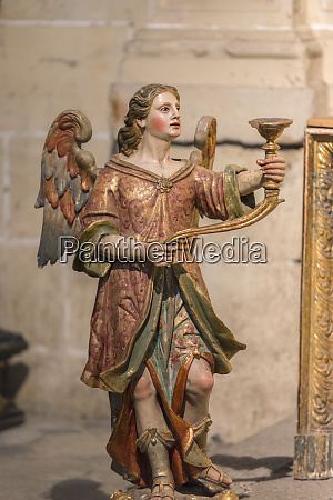 spain salamanca religious candle holder in
