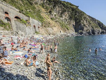relaxing in the italian riviera