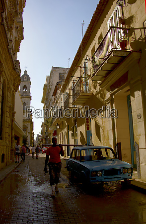 havana cuba typical street