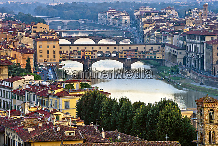 italy florence river view