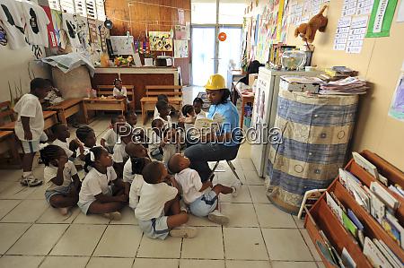 dominica roseau preschool ccf teacher telling