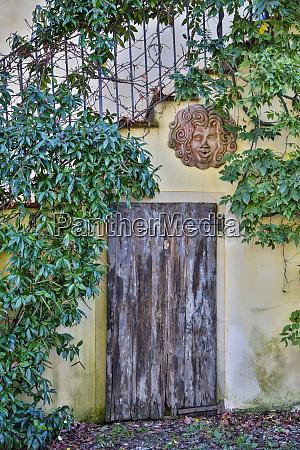 italy radda in chianti old doorway