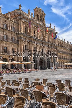 europe spain salamanca plaza mayor