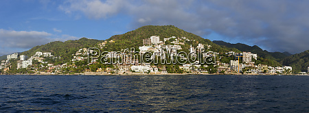 puerto vallarta beach jalisco mexico panoramic