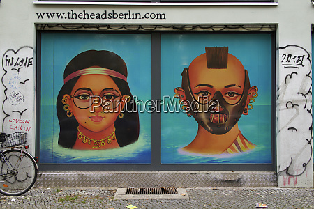 germany berlin yoga school murals