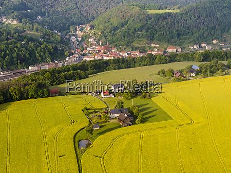 elbe sandstone mountains elbsandsteingebirge in the
