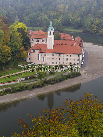 weltenburg monastery and the danube gorge
