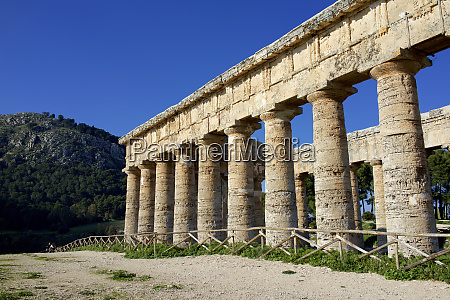 italy sicily segesta the greek temple
