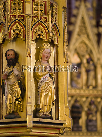 detail of the tabernacle the minster