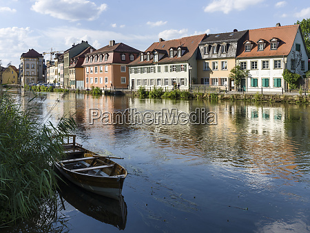 the old town and river regnitz