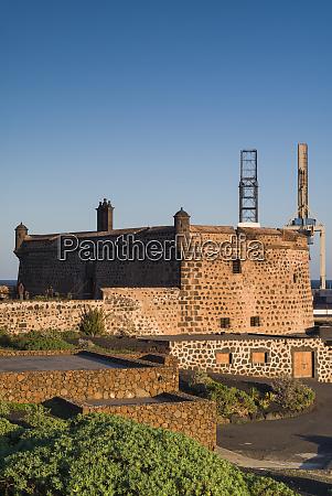 spain canary islands lanzarote arecife castillo