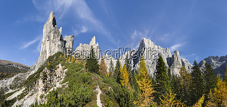 peaks of the southern civetta mountain
