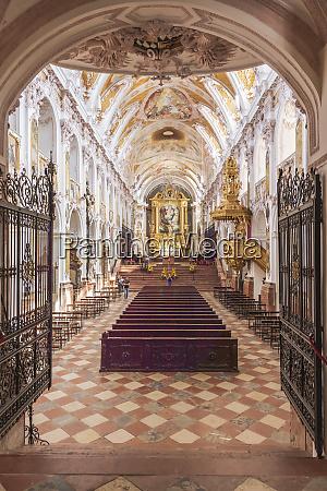 magnificent interior in rococo style of