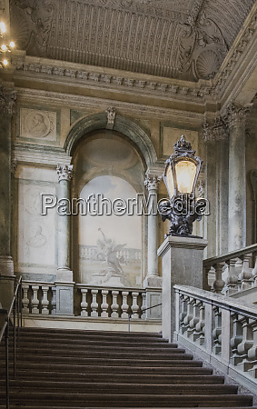 grand staircase located in the swedish