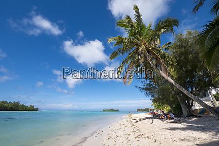 muri beach rarotonga cook islands south
