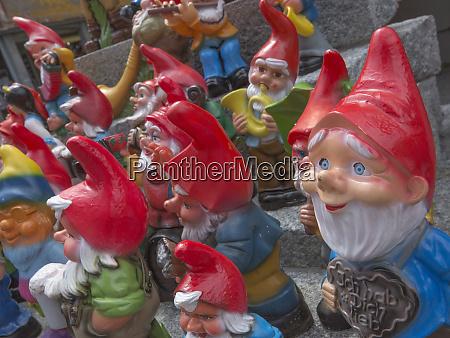 garden gnome selection