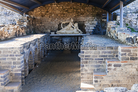 mithraeum dedicated to the god mitra