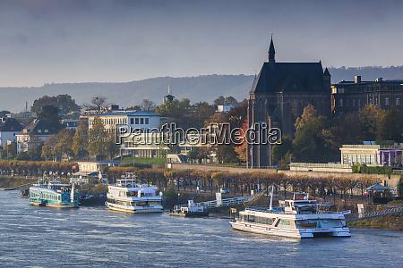 germany nordrhein westfalen bonn rhein riverfront