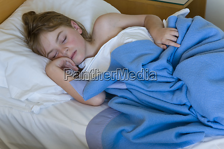 10 yr old boy asleep uk