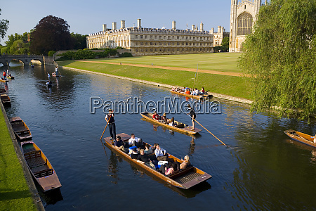 punts on the river cam kings