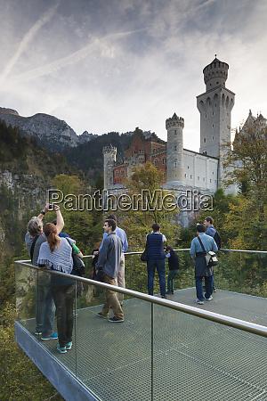 germany bavaria hohenschwangau schloss neuschwanstein castle