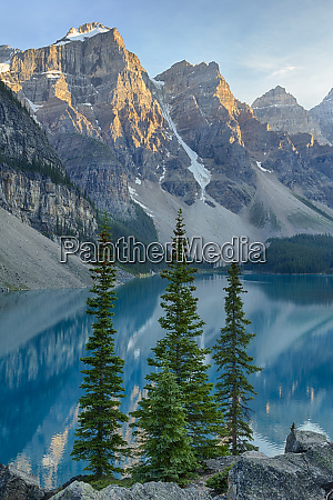 canada banff national park valley of