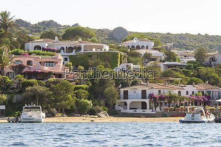 italy sardinia porto rafael quaint town