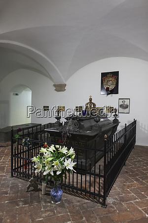 germany bavaria munich michaelskirche church crypt