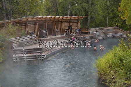 canada british columbia liard river hotsprings
