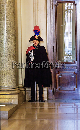 italian officer wearing ornate uniform madama