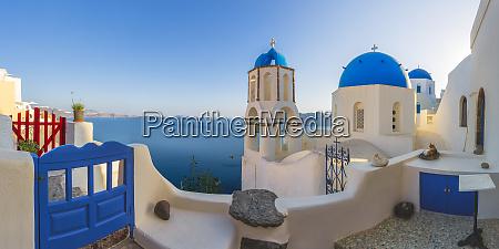 europe greece oia sunrise on greek