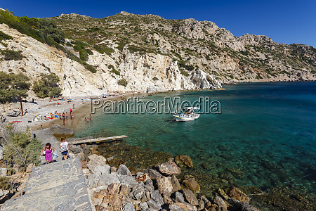 vroulidia beach chios island greece