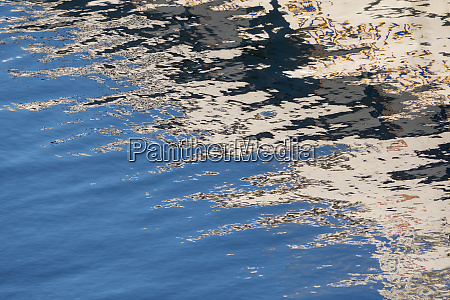 water reflection victoria harbor british columbia